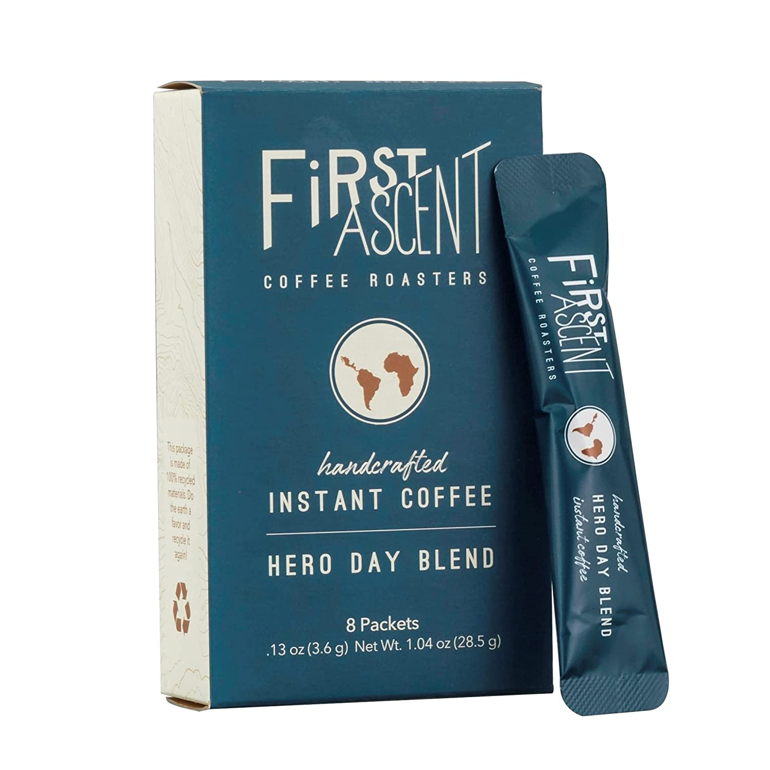 First Ascent Outlet sale feature Hero Day Handcrafted Single-Serve quality assurance Medium Roast Spec