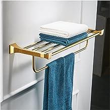YSJJDRT Opknoping Haak Goud Badkamer Accessoires Set Toilet Bursh Houder Goud Gepolijste Handdoek Ring Bad Hoek Plank Muur...