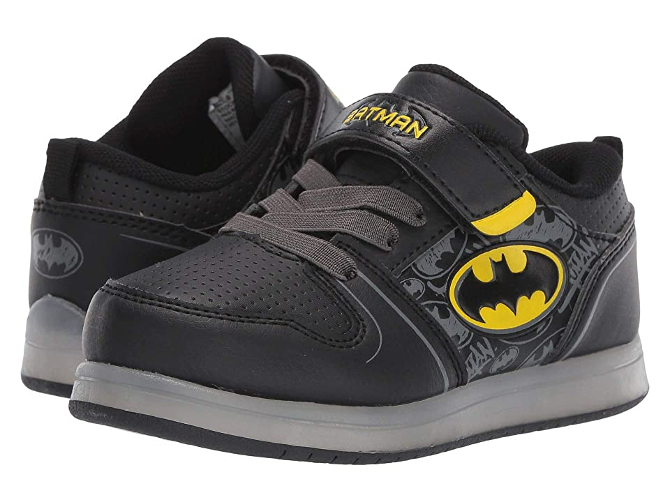 Favorite Characters Batmantm Motion Lighted BMS369 (Toddler/Little Kid) (Black) Boys Shoes