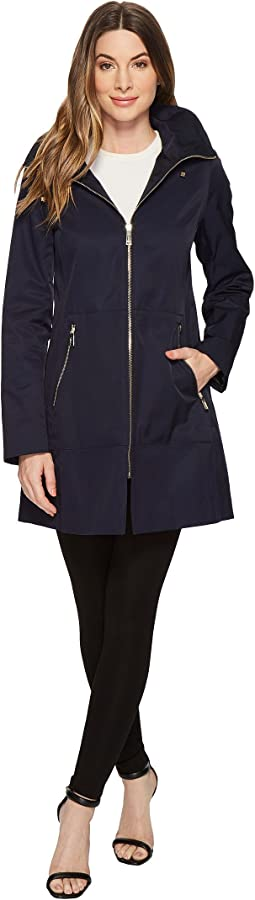 Ivanka Trump - Hooded Raincoat