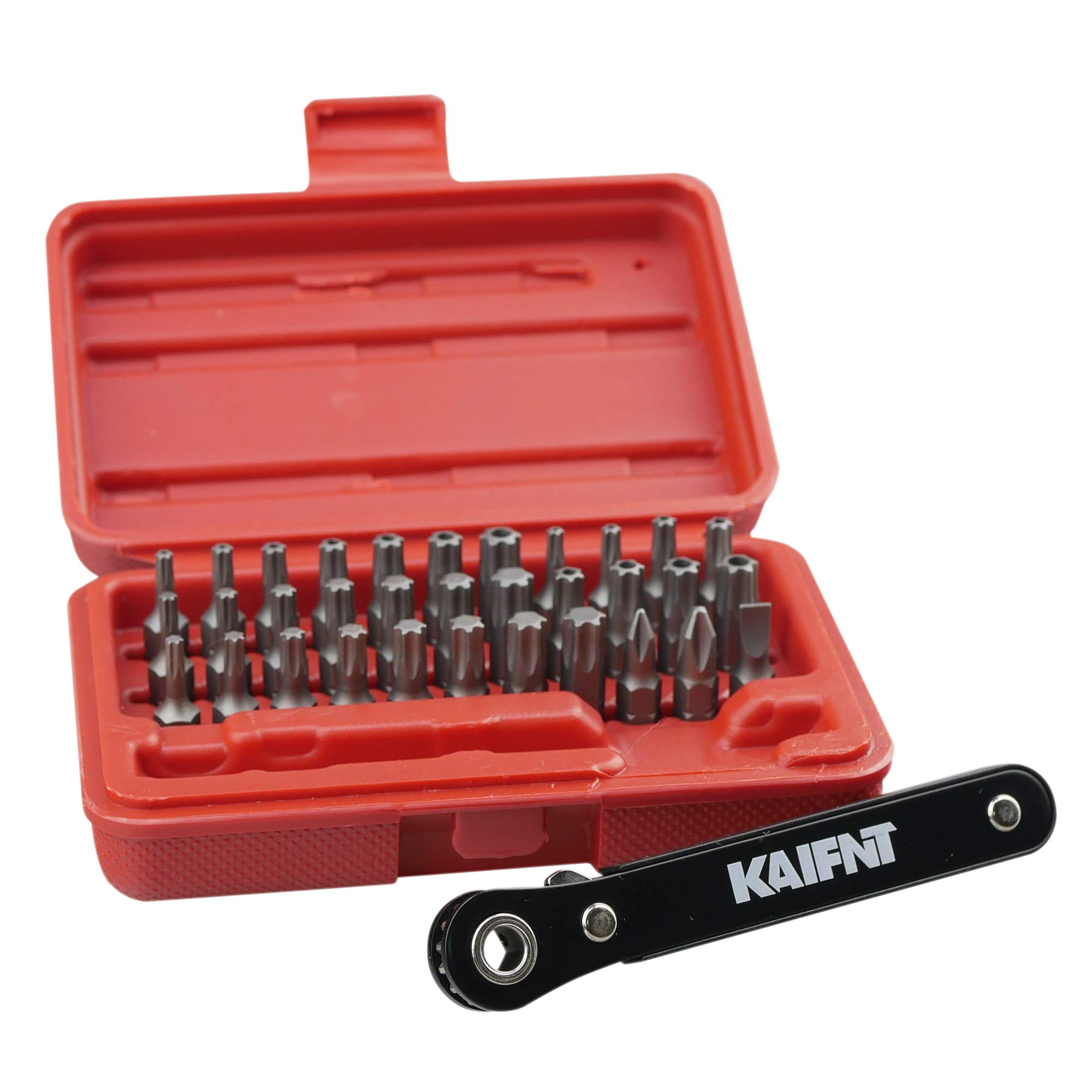 KAIFNT Comprehensive Ratchet Wrench 34 Piece