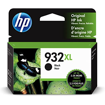 HP 932XL | Ink Cartridge | Black | Works with HP OfficeJet 6100, 6600, 6700, 7110, 7510, 7600 Series | CN053AN