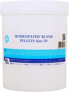 Homeopathy Blank PELLETS Size 20