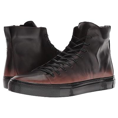 John Varvatos Collection Reed Mid Top Sneaker (Walnut) Men