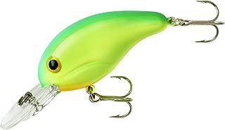Bandit Crank 200-Series 2-Inch Chartreuse Green Back 4 to 8-Feet Deep Bait