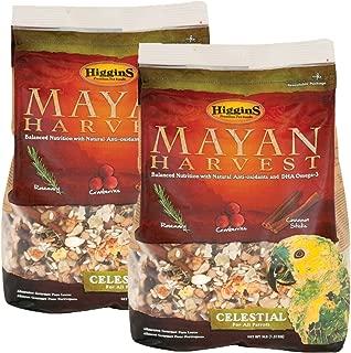 Higgins 466213 Mayan Harvest Celestial For All Parrots - 6 Pound