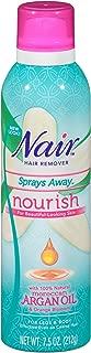 Nair Hair Remover Nourish Sprays Away Moroccan Argain Oil, 7.5 oz.