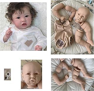 ZIYIUI 20 Pollici 50cm Una Bambola di rinascita di con Gli Occhi Chiusi e dormendo Adorabile Bambino Morbido Silicone Vinile Regalo di Compleanno di Un Giocattolo Neonato Fatto a Mano
