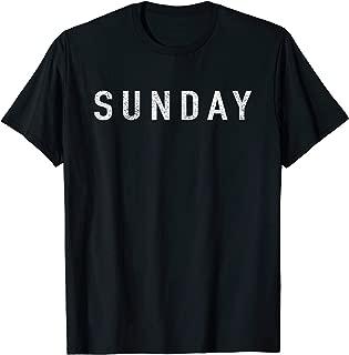 Best sunday t shirt Reviews