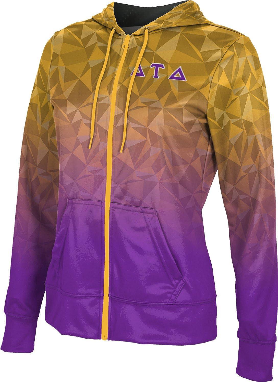 Ranking TOP16 Delta Super Special SALE held Tau Women's Zipper School Sweatshirt Spirit Hoodie