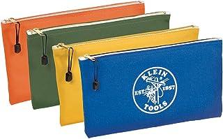 Klein Tools 5140 Zipper Bag, Utility Bag Use as Bank Deposit Bag, Tool Bag or Pouch, More..