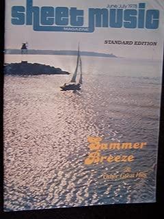 Sheet Music Magazine June/July 1978 Standard Edition