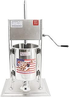 10L Spanish Churro Machine Deep-fried Dough Stick Bread Maker includes 3 Molds (220V AU/EU/UK plug)