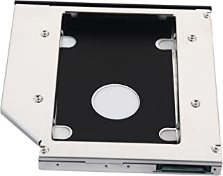 DeYoung 2nd disco duro HDD SSD SATA Caddy para HP ProBook 4330s 4331s 4340s 4341s 4370s 4430s