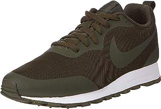 Nike Men's Zapatillas Md Runner 2 Se Black Low-Top Sneakers