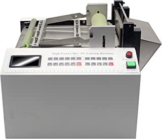 YS-100 Auto PVC Heat-shrink Tube Cable Pipe Cutter Cutting Machine Cut Width100mm (110V)