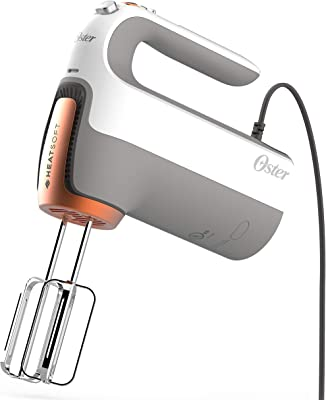 Oster HeatSoft Hand Mixer, One Size, Gray