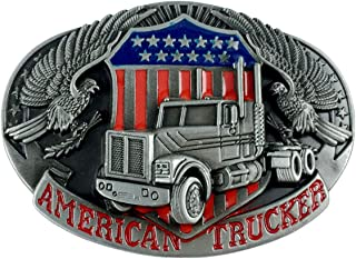 trucker belt buckles