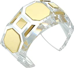 Geo Lucite Cuff Bracelet