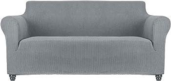 Sancua 1 Piece Stretch Durable Machine Washable Sofa Cover