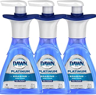 Dawn Platinum ERASING Dishfoam 10.1oz (Pack of 3)