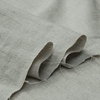 Japan Nature 100% Linen Fabric For Clothing, Home Decor, Pillow, Sofa, 56