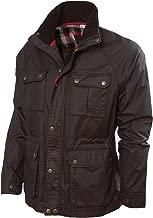 Vedoneire Mens Wax Jacket (3050 Brown) Motorbike Style Designer Coat from Ireland
