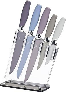 Taylors Eye Witness Brooklyn - Juego de 5 cuchillos (cromo y piedra)