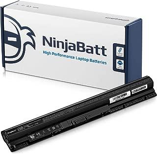 NinjaBatt Laptop Battery M5Y1K for Dell Inspiron 3451 3551 5558 5555 5755 5758 Inspiron 14 3452 15 3000 15 5000 15 5559 HD4J0 GXVJ3 991XP VN3N0 07G07 78V9D Vostro 3458 3558 - [4 Cells/2200mAh/33Wh]