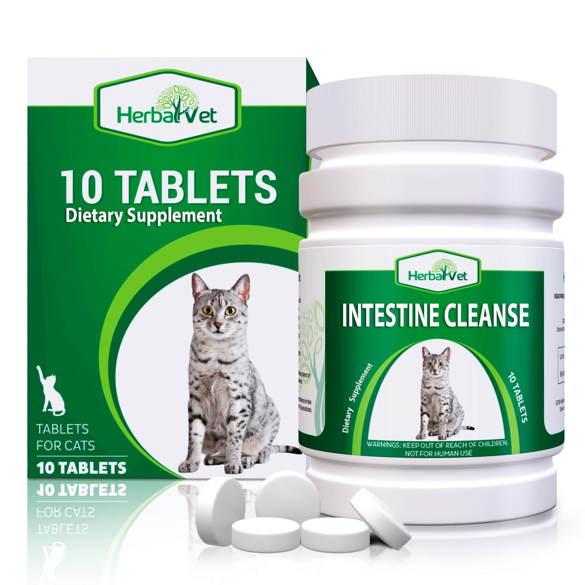 HerbalVet Intestinal Dewormer Alternative Cleansing