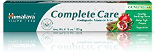 Himalaya Complete Care Toothpaste, Antiplaque toothpaste, for Healthy-Looking Gums and Long-lasting Fresh Breath 6.17 oz (175 g)