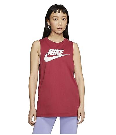 Nike NSW Tank Muscle Essential Futura (Worn Brick) Women