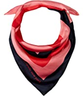 Kate Spade New York - Color Block Silk Bandana Scarf