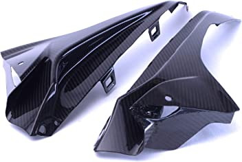 Bestem CBBM-S1KR14-FLSC-T Carbon Fiber Side Headlight Headlamp Cover Panels 1 Pack for BMW S1000R 2014 S1000RR 2015 +