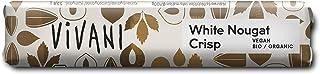 Vivani White Nougat Crisp Chocolate Bar Vegan 1.24oz