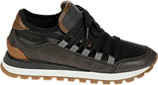 BRUNELLO CUCINELLI Luxury Fashion Womens MZSTG1585C101 Brown Sneakers | Fall Winter 19