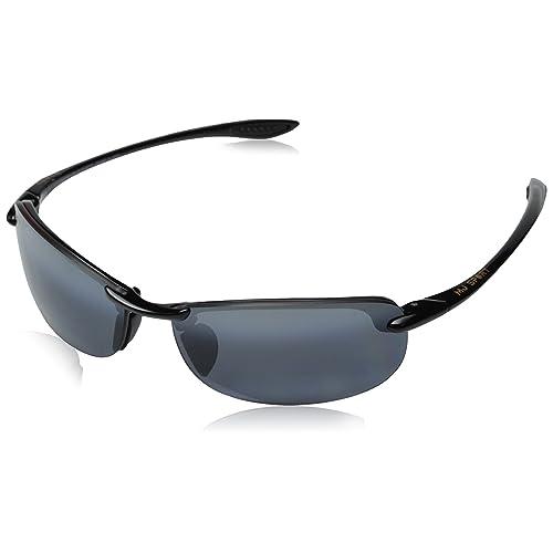 57f30829d4 Maui Jim Unisex Makaha Readers Gloss Black/Neutral Grey Lens/2.5 Lens +2.50