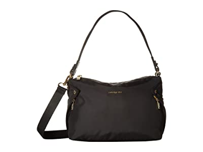 Hedgren Prisma Reflect Mini Hobo (Black) Hobo Handbags