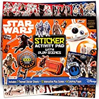 Star Wars Ultimate Sticker Book - Over 1000 Stickers (Star Wars Party Supplies, The Last Jedi)