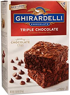 Ghirardelli Triple Chocolate Brownie Mix- 7.5 lb box