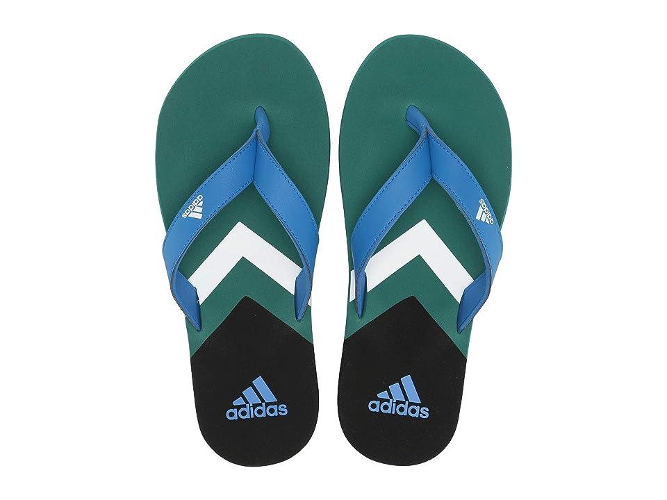 adidas Eezay Flip-Flop (True Blue/Footwear White/Active Green) Men