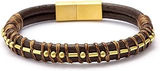 I Love You Morse Code Leather Bracelets for Men Funny...