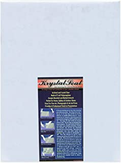 Creative Mark Krystal Seal Art and Photo Bags - Resealable Archival Storage Bags Art Sleeves Plastic Bag Used for Protecting Artwork Resealable with Adhesive Strip - [250 Pack - 8 x 10