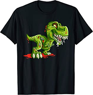 Zombie Saurus T-Rex Dino Halloween Costume Easy Lazy Gifts T-Shirt