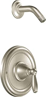 Moen T2152NHBN Brantford Posi-Temp Pressure Balancing Shower Trim Kit without Showerhead Valve Required, Brushed Nickel