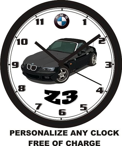 BMW Z3 WALL CLOCK Free USA Ship