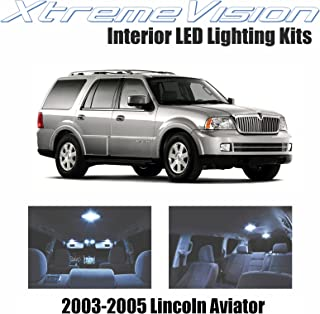 XtremeVision Interior LED for Lincoln Aviator 2003-2005 (12 Pieces) Cool White Interior LED Kit + Installation Tool