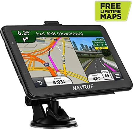 Car GPS Navigation 7 inch Touch Screen Voice Prompt GPS Navigation Built-in 8GB No