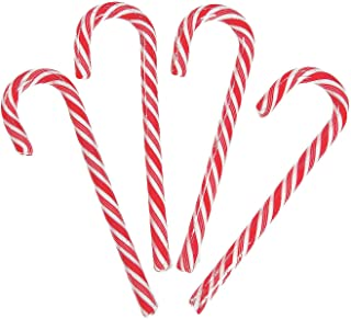 Fun Express - Giant Candy Cane for Christmas - Edibles - Hard Candy - Candy Cane & Stick - Christmas - 12 Pieces
