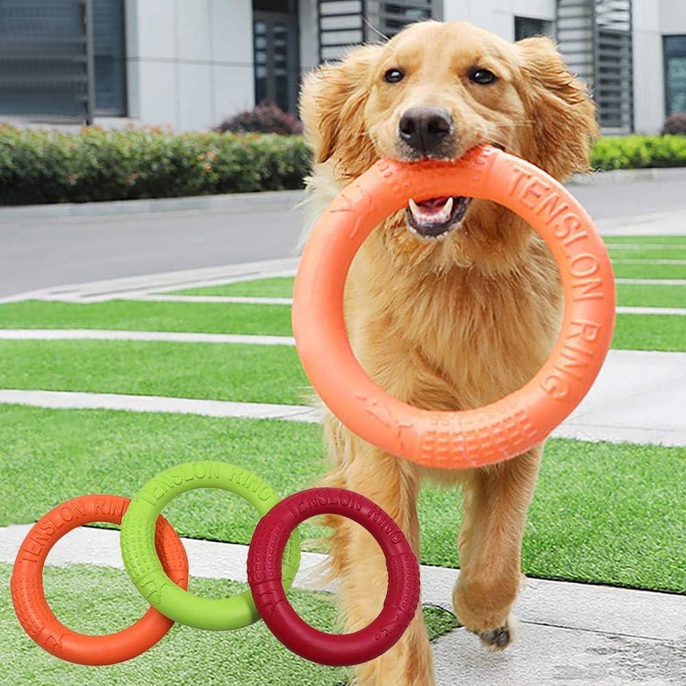 Pet sold out Flying Discs EVA Dog Training Flo Puller Resistant Ring Popularity Bite